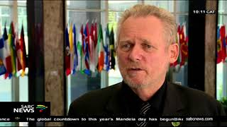 Trade and Industry minister Rob Davies attends the AGOA Forum