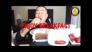 FILIPINO FOOD MUKBANG | PINOY BREAKFAST