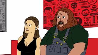 "Tom and Dan Toons! - Season #4 - Episode #31 - ""Steve Porkroll"