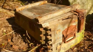 Man Finds Aba ed NZ Relics In A Hidden Bunker In Germany