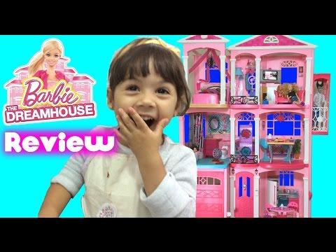 Casa dos Sonhos da Barbie Dreamhouse Completo