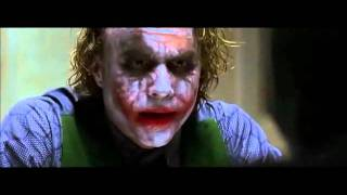 Fav Movie Scenes - Joker's interrogation (The Dark Knight)