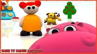 BABY TV HIPPA HIPPA HEY - English Games for Kids Learning English Words ✅BABYTV Cartoon & Songs Show