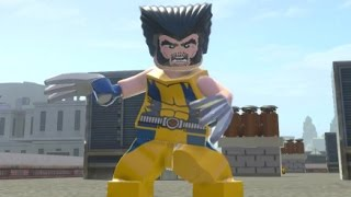 LEGO Marvel Super Heroes - Wolverine Free Roam Gameplay (Character Showcase)