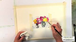 Pat Weaver Art Tutorial - Painting on Photographs