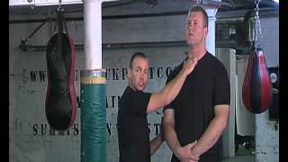 Pressure Points Against A Big Attacker. For Use in