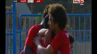 الممتاز ب    هدف النصر الأول فى مرمي الشهداء