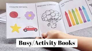 Busy/Activity Books For Toddlers