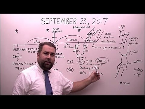 September 23, 2017?  What's going to happen?