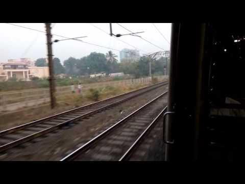 Ex-WR Retrofitted EMU at Kanjur Marg station
