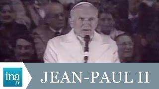 Jean-Paul II à Strasbourg en 1988 - Archive INA