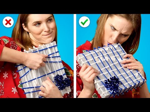 8 Christmas Pranks Mean Gift Wrapping Ideas and Funny Pranks