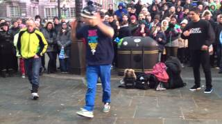 AMAZING Street Dance Performance in London, Picadilly!