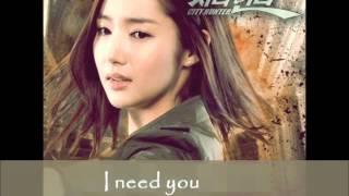 city hunter - i love you i want you i need you (subtitulos español y romanizacion)