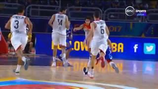 بطولة كأس العالم لكرة السلة - ثلاثيات رائعة من مباراة مصر VS بورتوريكو ... متعة كرة السلة