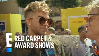 """Adam Lambert Weighs in on New """"American idol""""   E! Live from the Red Carpet"""