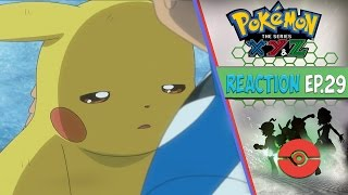 Pokemon XYZ Anime Reaction Ep.29 - The Final Kalos Region Gym Battle