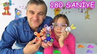 STRES ÇARKI CHALLENGE (Pembe 180 saniye VS Mavi) - Eğlenceli Çocuk Videosu - Funny Kids Videos