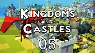 KINGDOMS AND CASTLES #05 THE WALL - Gameplay / Let