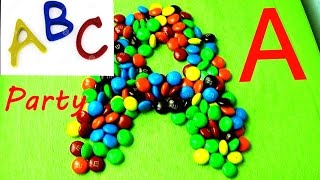 Candy ABC Party Compilation! Learning the Alphabet with Play-Doh Candy