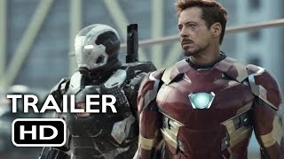 Captain America: Civil War Official Trailer #1 (2016) Chris Evans, Robert Downey Jr. Movie HD