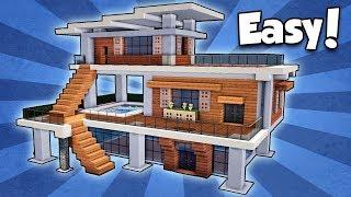 Minecraft Modern Mansion Videos And Audio Download MP HD MP - Minecraft modern house 5x5