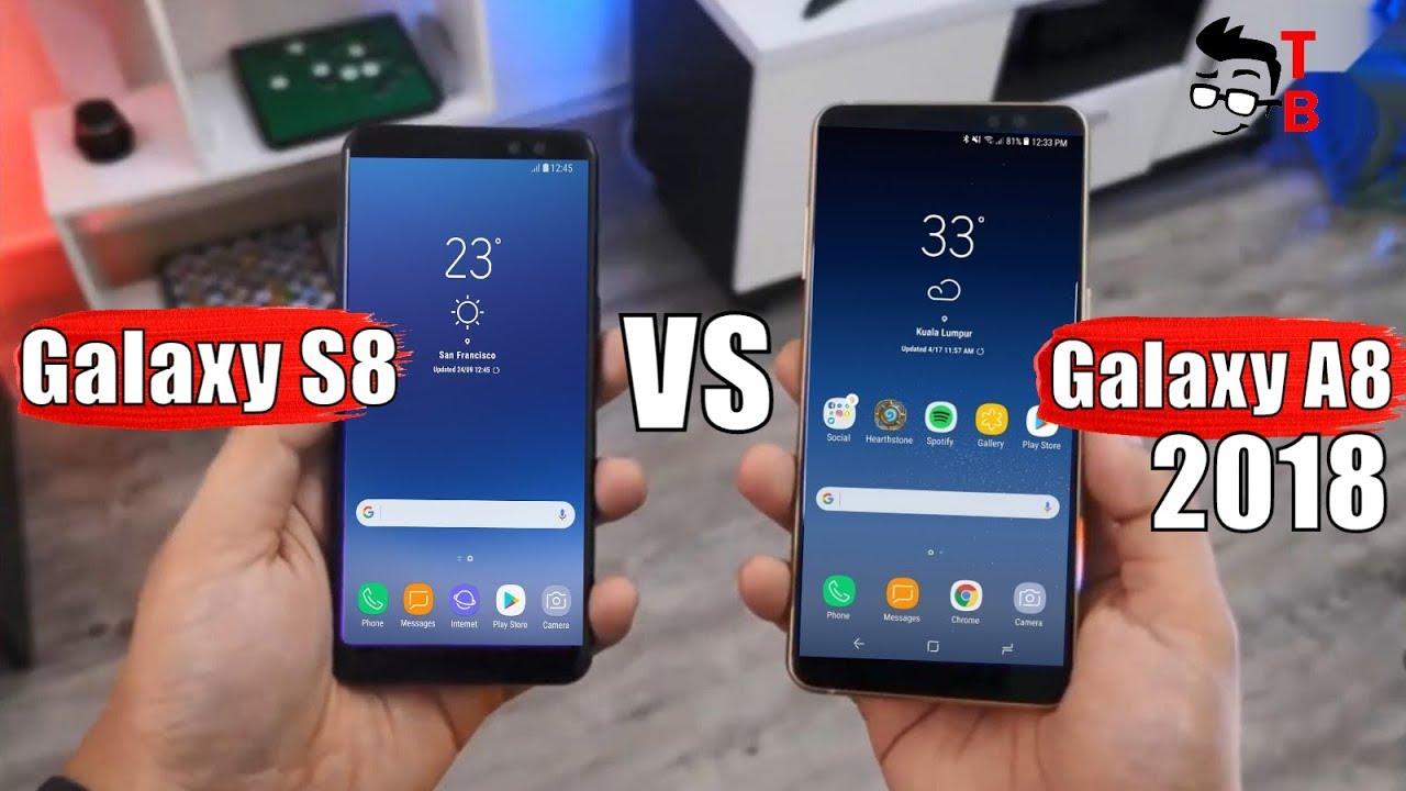 Samsung Galaxy A8 (2018) Vs Galaxy S8: Compare New Mid