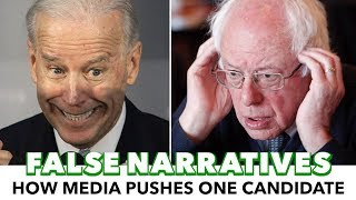 Media Perpetuates False Narrative On Biden's Popularity