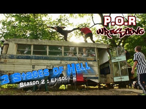3 Stages of Hell - P.O.R Wrestling (Full Event)