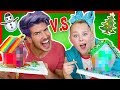 Download Video Download GINGERBREAD HOUSE CHALLENGE w/ JOJO SIWA! 3GP MP4 FLV