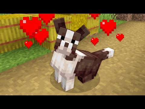 I gave Dogs an Update for Minecraft