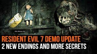 Resident Evil 7 Demo Update - 2 new endings and more secrets