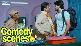 GajaKesari Kannada Movie- Super comedy Scene | Yash| Amulya