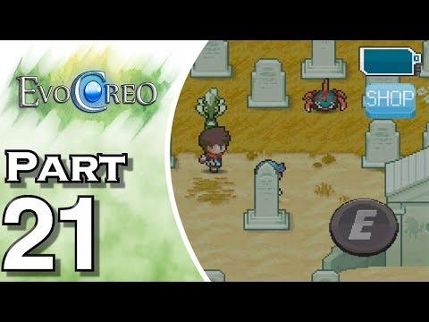 Let's Play EvoCreo (Gameplay + Walkthrough) Part 21 - Rouh Cemetery