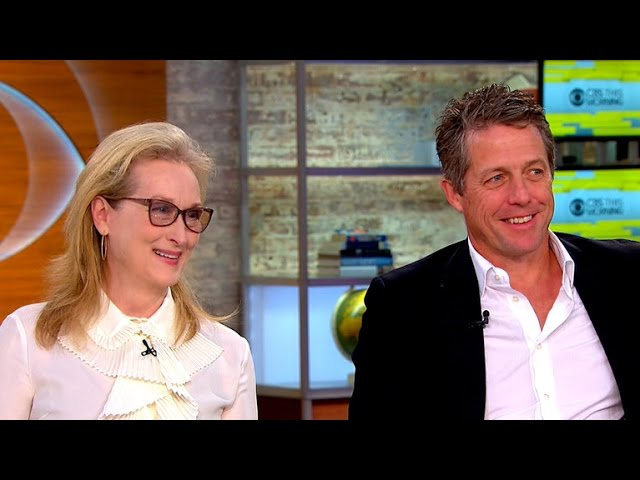 "Meryl Streep and Hugh Grant talk ""Florence Foster Jenkins"" and politics"