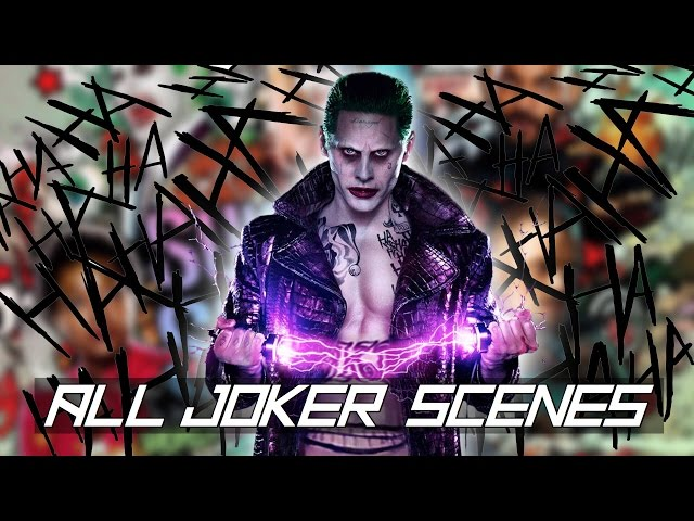 Suicide Squad - ALL Extended Joker Scenes in Order