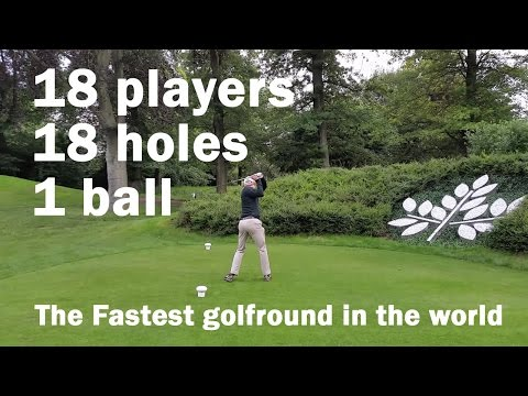 The Fastest Golf Round In The World