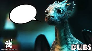 If Dragons in Commercials Could Talk - Baby Dragon!