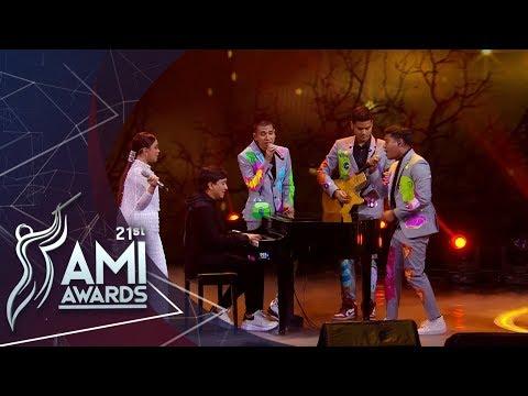 "RAN Rossa feat. Yovie Widianto ""Takkan Terganti"" Medley Song | AMI AWARDS 2018"