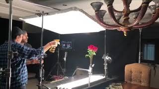 كواليس تصوير مقدمة مسلسل عشاق رغم الطلاق