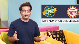 5 Tips to Save Money on Online Sale in India #Amazon big festive #Flipkart Big Billion Day Sale