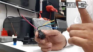Power window wiring.Efi auto electrician traning in urdu session 33