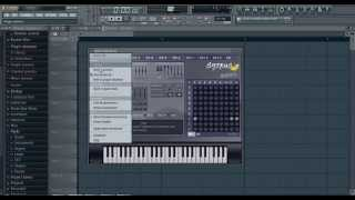 FL Studio 11 Beginner Beat Making Using Mouse and Keyboard Part1