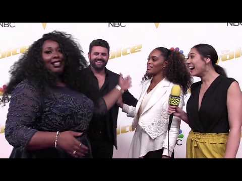 TEAM BLAKE Talk Their Influences and Song Choice | The Voice Top 12 Live Shows Red Carpet