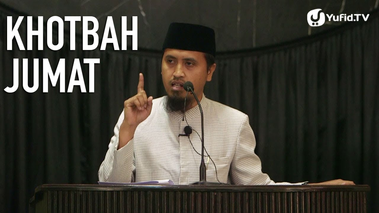 Khotbah Jumat: Cerdas Menyikapi Media Masa - Ustadz Abdullah Zaen, MA