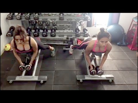 Xxx Mp4 Neha Sharma And Aysha Sharma Daily Hot Gym Workout Video Celebrities Workout Videos Video 2 3gp Sex