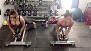 Neha Sharma And Aysha Sharma Daily Hot Gym Workout Video | Celebrities Workout Videos | Video 2