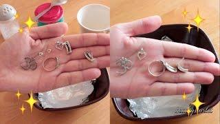 Mój łatwy sposób na czyszczenie srebrnej biżuterii | beautystarlet