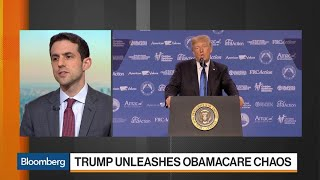 Trump Unleashes Obamacare Chaos After Ending Subsidies