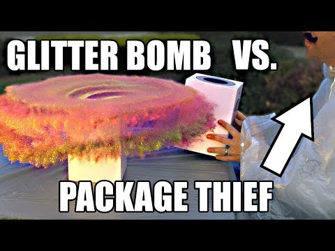 Xxx Mp4 Package Thief Vs Glitter Bomb Trap 3gp Sex